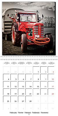 Oldtimers - tractors and trucks (Wall Calendar 2019 300 × 300 mm Square) - Produktdetailbild 2