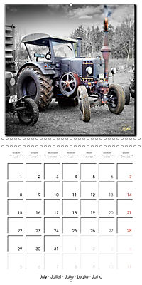 Oldtimers - tractors and trucks (Wall Calendar 2019 300 × 300 mm Square) - Produktdetailbild 7