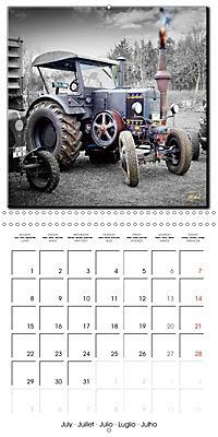Oldtimers - tractors and trucks (Wall Calendar 2019 300 × 300 mm Square) - Produktdetailbild 7