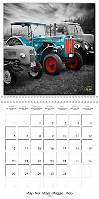 Oldtimers - tractors and trucks (Wall Calendar 2019 300 × 300 mm Square) - Produktdetailbild 5