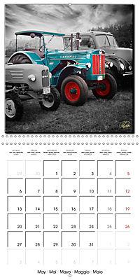 Oldtimers - tractors and trucks (Wall Calendar 2019 300 × 300 mm Square) - Produktdetailbild 5