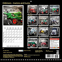 Oldtimers - tractors and trucks (Wall Calendar 2019 300 × 300 mm Square) - Produktdetailbild 13