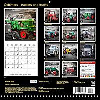 Oldtimers - tractors and trucks (Wall Calendar 2019 300 × 300 mm Square) - Produktdetailbild 13