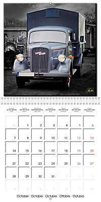Oldtimers - tractors and trucks (Wall Calendar 2019 300 × 300 mm Square) - Produktdetailbild 10