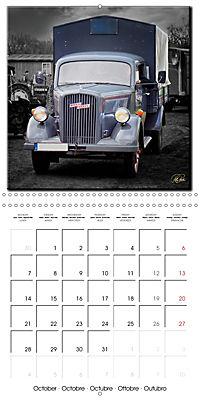 Oldtimers - tractors and trucks (Wall Calendar 2019 300 × 300 mm Square) - Produktdetailbild 10