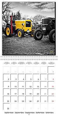 Oldtimers - tractors and trucks (Wall Calendar 2019 300 × 300 mm Square) - Produktdetailbild 9