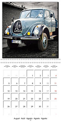 Oldtimers - tractors and trucks (Wall Calendar 2019 300 × 300 mm Square) - Produktdetailbild 8