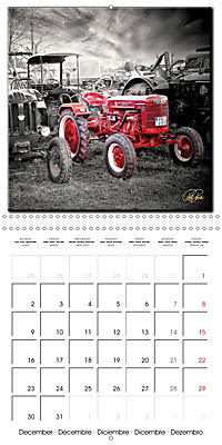 Oldtimers - tractors and trucks (Wall Calendar 2019 300 × 300 mm Square) - Produktdetailbild 12