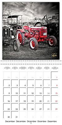 Oldtimers - tractors and trucks (Wall Calendar 2019 300 × 300 mm Square) - Produktdetailbild 12