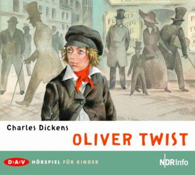 Oliver Twist, 2 Audio-CDs, Charles Dickens
