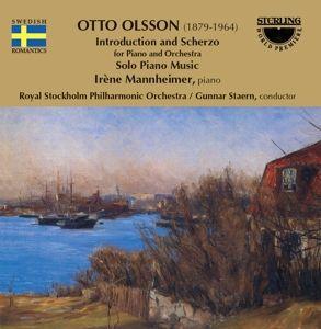 Olsson:Introduction+Scherzo/+, Irène Mannheimer, Royal Stockholm Po