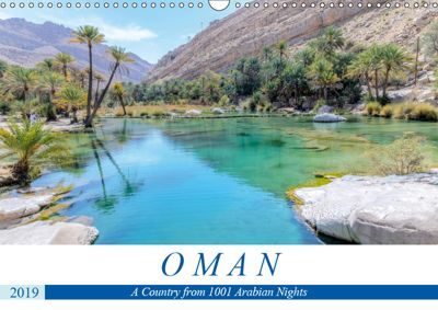 Oman (Wall Calendar 2019 DIN A3 Landscape), Joana Kruse