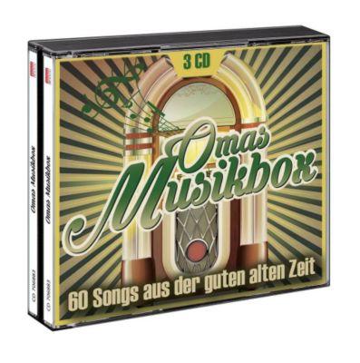 Omas Musikbox - 60 Lieder aus der guten alten Zeit, Varoius