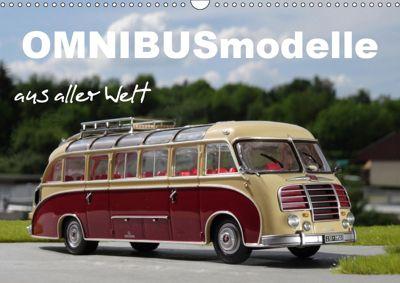 Omnibusmodelle aus aller Welt (Wandkalender 2019 DIN A3 quer), Klaus-Peter Huschka