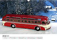 Omnibusmodelle aus aller Welt (Wandkalender 2019 DIN A3 quer) - Produktdetailbild 1