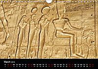 On the trail of the ancient Egypt (Wall Calendar 2019 DIN A4 Landscape) - Produktdetailbild 3