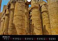 On the trail of the ancient Egypt (Wall Calendar 2019 DIN A4 Landscape) - Produktdetailbild 1