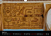 On the trail of the ancient Egypt (Wall Calendar 2019 DIN A4 Landscape) - Produktdetailbild 4