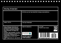 One Day Amsterdam (Tischkalender 2019 DIN A5 quer) - Produktdetailbild 13