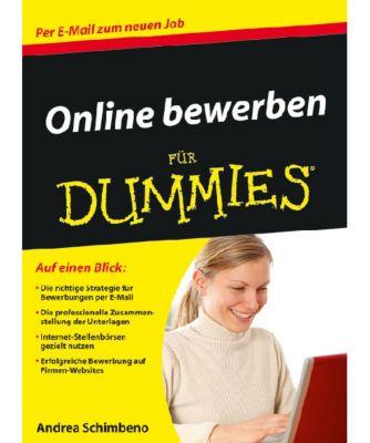 Online bewerben für Dummies, Andrea Schimbeno