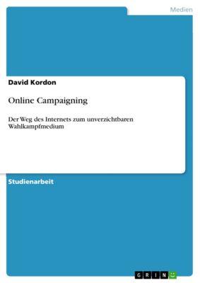 Online Campaigning, David Kordon