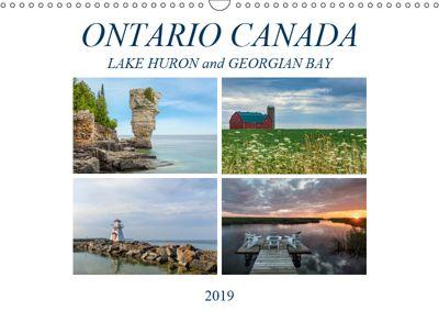 Ontario Canada, Lake Huron and Georgian Bay (Wall Calendar 2019 DIN A3 Landscape), Joana Kruse