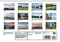 Ontario Canada, Lake Huron and Georgian Bay (Wall Calendar 2019 DIN A4 Landscape) - Produktdetailbild 13