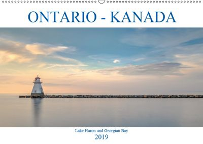 Ontario Kanada, Lake Huron und Georgian Bay (Wandkalender 2019 DIN A2 quer), Joana Kruse
