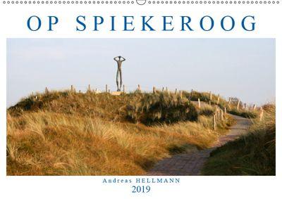OP SPIEKEROOG (Wandkalender 2019 DIN A2 quer), Andreas Hellmann
