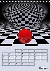 OpArt und mehr (Tischkalender 2019 DIN A5 hoch) - Produktdetailbild 5