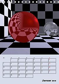 OpArt und mehr (Tischkalender 2019 DIN A5 hoch) - Produktdetailbild 1