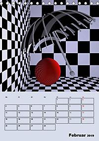 OpArt und mehr (Tischkalender 2019 DIN A5 hoch) - Produktdetailbild 2