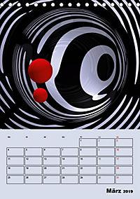 OpArt und mehr (Tischkalender 2019 DIN A5 hoch) - Produktdetailbild 3