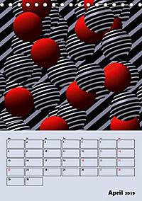 OpArt und mehr (Tischkalender 2019 DIN A5 hoch) - Produktdetailbild 4