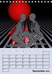 OpArt und mehr (Tischkalender 2019 DIN A5 hoch) - Produktdetailbild 9