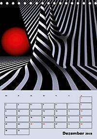 OpArt und mehr (Tischkalender 2019 DIN A5 hoch) - Produktdetailbild 12