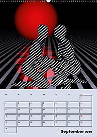 OpArt und mehr (Wandkalender 2019 DIN A2 hoch) - Produktdetailbild 9
