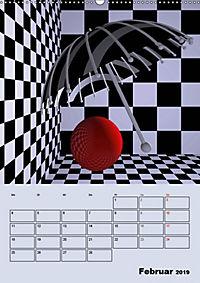 OpArt und mehr (Wandkalender 2019 DIN A2 hoch) - Produktdetailbild 2