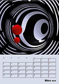 OpArt und mehr (Wandkalender 2019 DIN A2 hoch) - Produktdetailbild 3