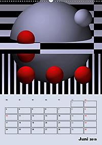 OpArt und mehr (Wandkalender 2019 DIN A2 hoch) - Produktdetailbild 6