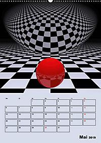 OpArt und mehr (Wandkalender 2019 DIN A2 hoch) - Produktdetailbild 5