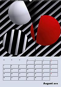 OpArt und mehr (Wandkalender 2019 DIN A2 hoch) - Produktdetailbild 8