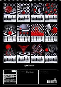 OpArt und mehr (Wandkalender 2019 DIN A2 hoch) - Produktdetailbild 13
