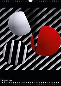 OpArt und mehr (Wandkalender 2019 DIN A3 hoch) - Produktdetailbild 8