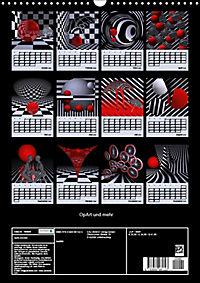 OpArt und mehr (Wandkalender 2019 DIN A3 hoch) - Produktdetailbild 13