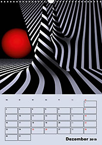 OpArt und mehr (Wandkalender 2019 DIN A3 hoch) - Produktdetailbild 12