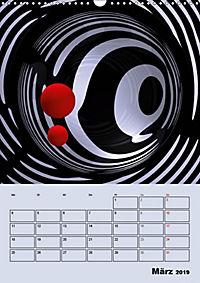 OpArt und mehr (Wandkalender 2019 DIN A3 hoch) - Produktdetailbild 3