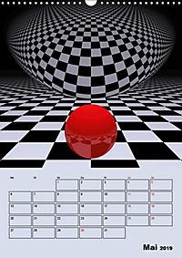 OpArt und mehr (Wandkalender 2019 DIN A3 hoch) - Produktdetailbild 5