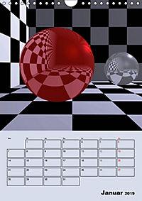 OpArt und mehr (Wandkalender 2019 DIN A4 hoch) - Produktdetailbild 1