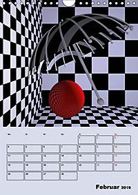 OpArt und mehr (Wandkalender 2019 DIN A4 hoch) - Produktdetailbild 2
